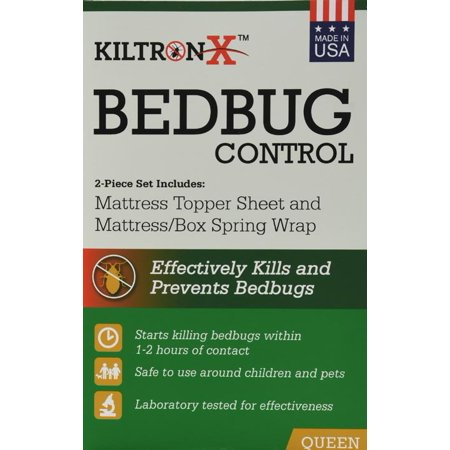 Image of Live Free Bedbug Solution Mattress Topper Sheet and Mattress Wrap Set