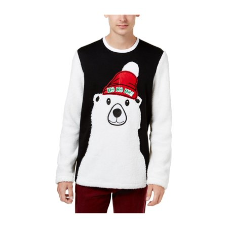 American Rag Mens Polar Bear Pullover Sweater American Eagle Cotton Sweater