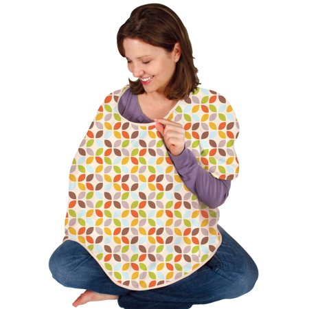 Leachco Cuddle-U Mother Cover Nursing Cover, Leaf Cluster Multi