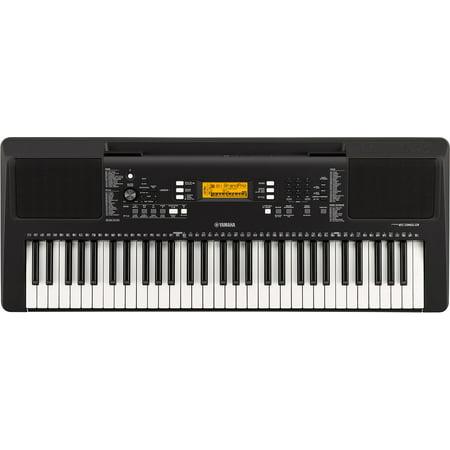 Yamaha PSR-E-363 61-Key Touch Sensitive Portable Keyboard with On-board Lessons (Keyboards Yamaha)