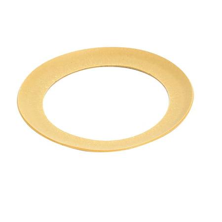 68mmx48mmx0.8mm Air Compressor Compression Piston Ring Yellow Piston Compression Rings