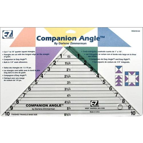 """Wright's Companion Angle, 1"""" to 10"""""""