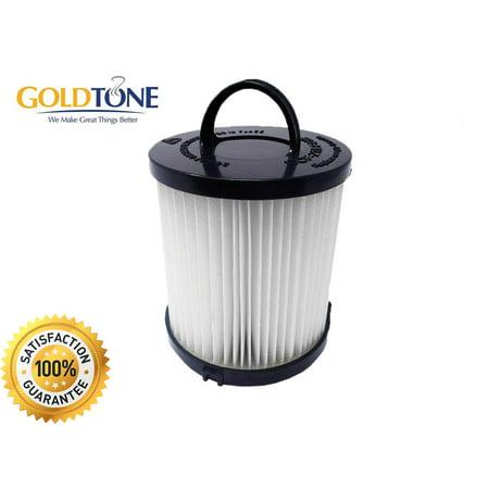GoldTone Brand Replacement Allergen Vacuum Filter Fits Eureka Vacuum Cleaner. Replaces your Eurkea DCF-21 Part number  67821, 68931, 68931A, EF91, EF-91, EF-91B [1 - Fits Eureka Part Number