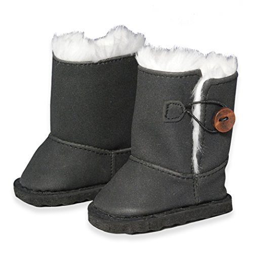 """Doll Clothes Snow Boots Shoes Fits American Girl & Other 18"""" Inch Dolls by Pink Butterfly Closet"""