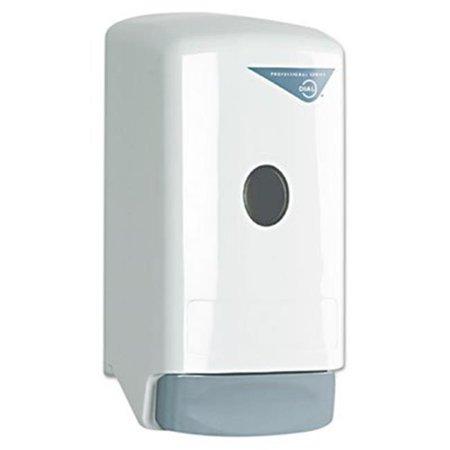 Dial. Professional 03226 Liquid Soap Dispenser, 800 ml. - White 800 Ml Soap System