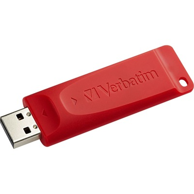 Verbatim 4GB Store 'n' Go USB Flash Drive - Red VER95236