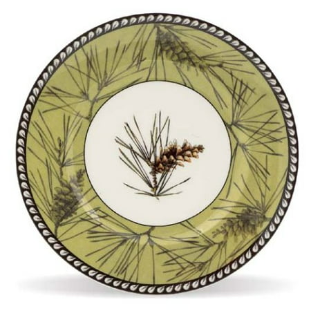 Pine Bough 9 Accent Plate, Crafted of Lenox white bone china By - Lenox 9 Accent Plate