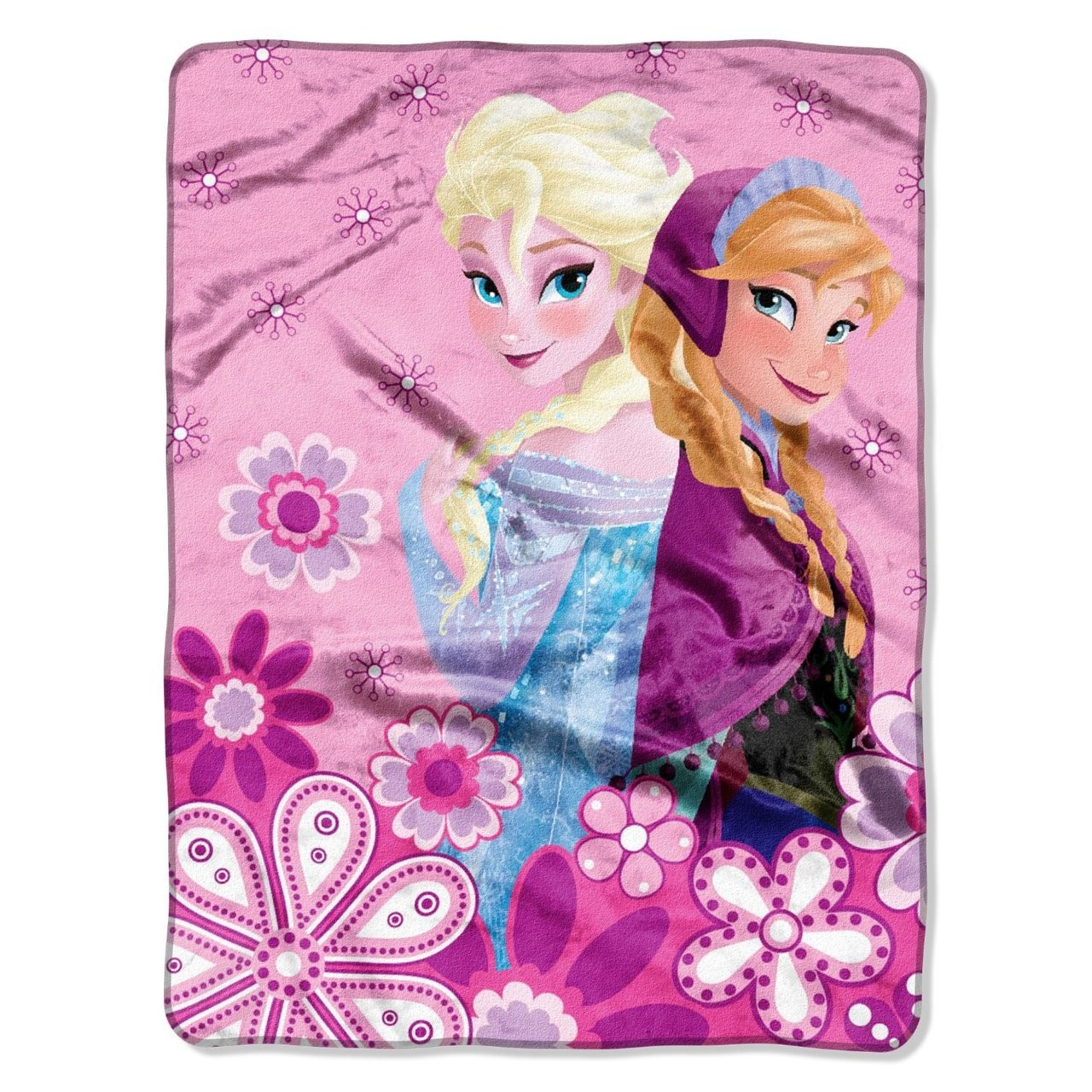 "Disney's Frozen ""Spring Sisters"" Micro Raschel Throw"