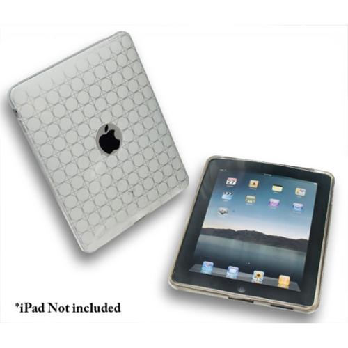 Connectland Anti-slip TPU Skin Case For Apple iPad 1st Generation White