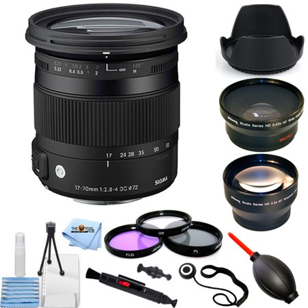 Sigma 17-70mm f/2.8-4 DC Macro OS HSM Lens for Canon PRO -
