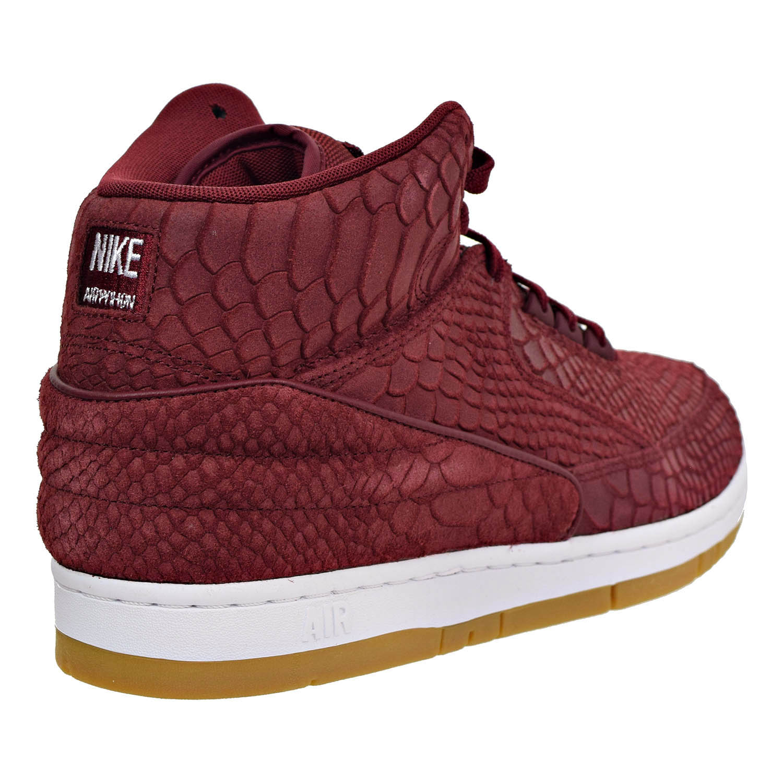 Nike Air Python Premium Men's Men's Premium Athletic Shoes Team Red/White 705066-601 a221c2
