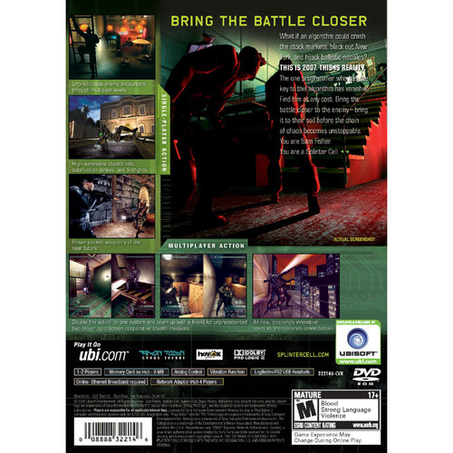 Splinter Cell Chaos Theory Playstation 2(Refurbished) by Ubisoft