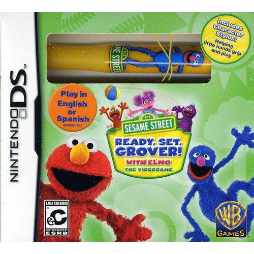 Sesame St:Ready Set Grover (Nintendo 3DS)