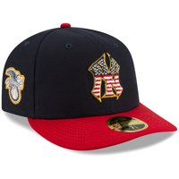 New York Yankees New Era 2019 Stars & Stripes 4th of July On-Field Low Profile 59FIFTY Fitted Hat - Navy/Red