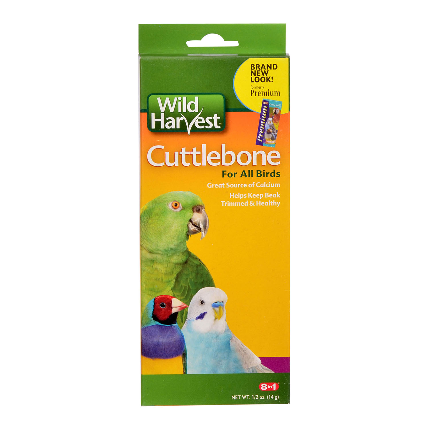 Wild Harvest Premium Cuttlebone for All Birds, .5-Ounce
