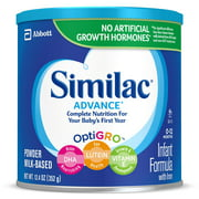 Similac Advance Baby Formula To Support Brain & Eyes, 6 Count Powder, 12.4-oz Can