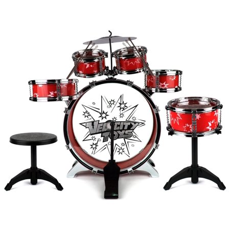 Buy Toy Drum Set For Children 11 Piece Kids Musical Instrument Drum