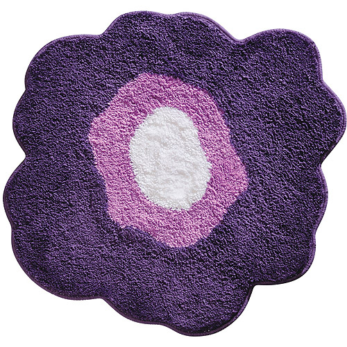 InterDesign Poppy 2 Bathroom Rug