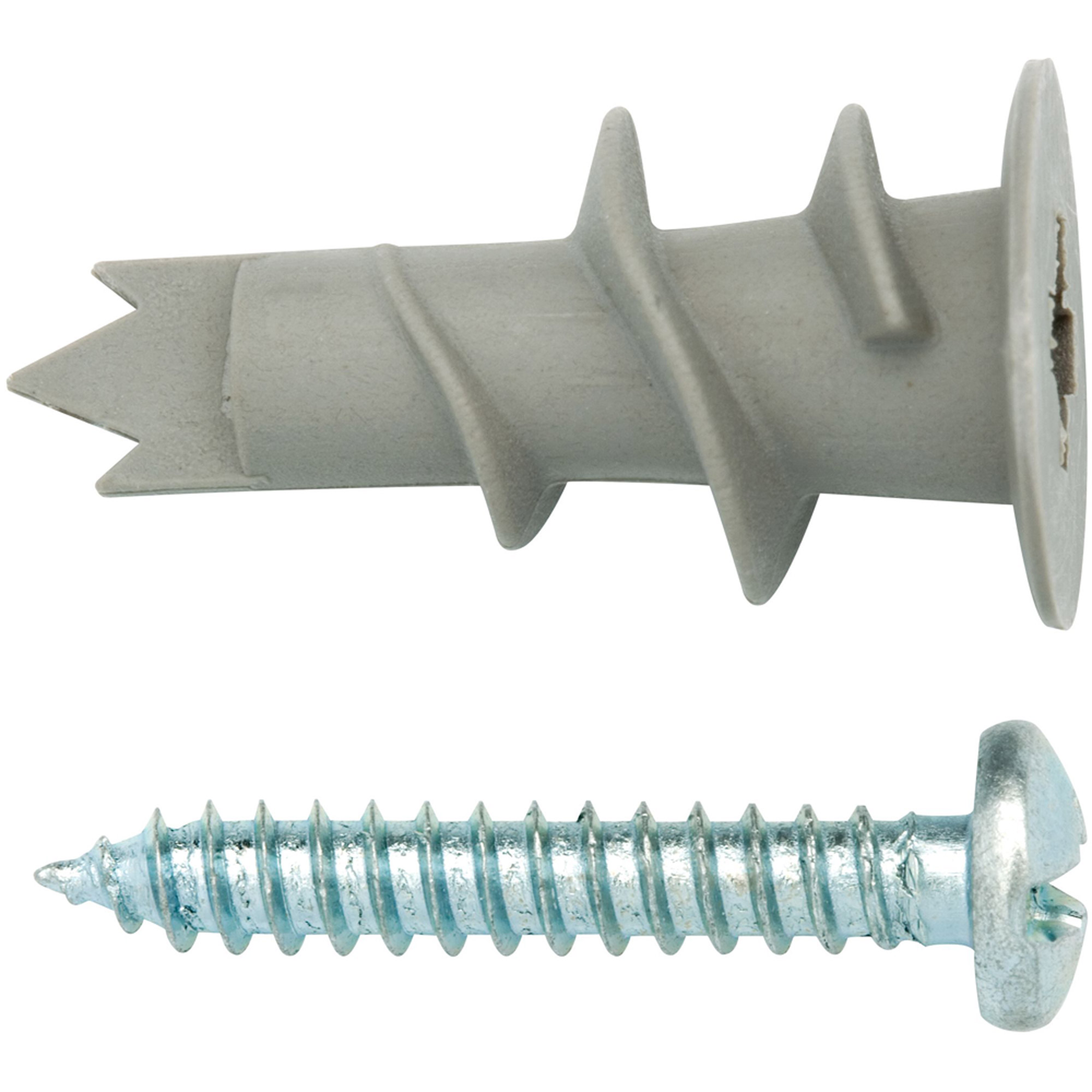 Arrow 10-Piece Self-Drilling Drywall Anchors and Screws