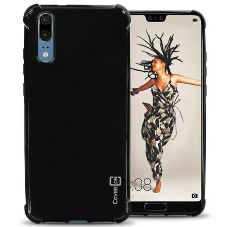 CoverON Huawei P20 Case, FlexGuard Series Soft Flexible Slim Fit TPU Phone Cover