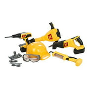 Constructive Playthings - Heavy Construction Tools - For Pretend Play - With Sound Effects and Motions - Teaches Responsibility - 14 Piece