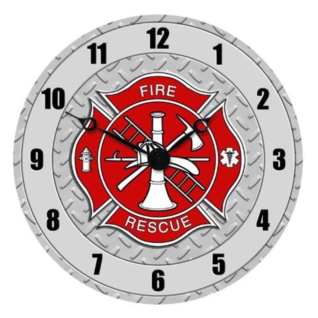 Sigma Impex CLK-109 Fire Dept. Wall Clock