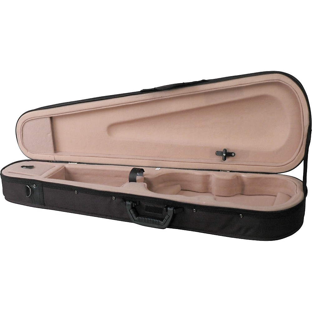 Bellafina Featherweight Shaped Viola Case Black 15 in. by Bellafina