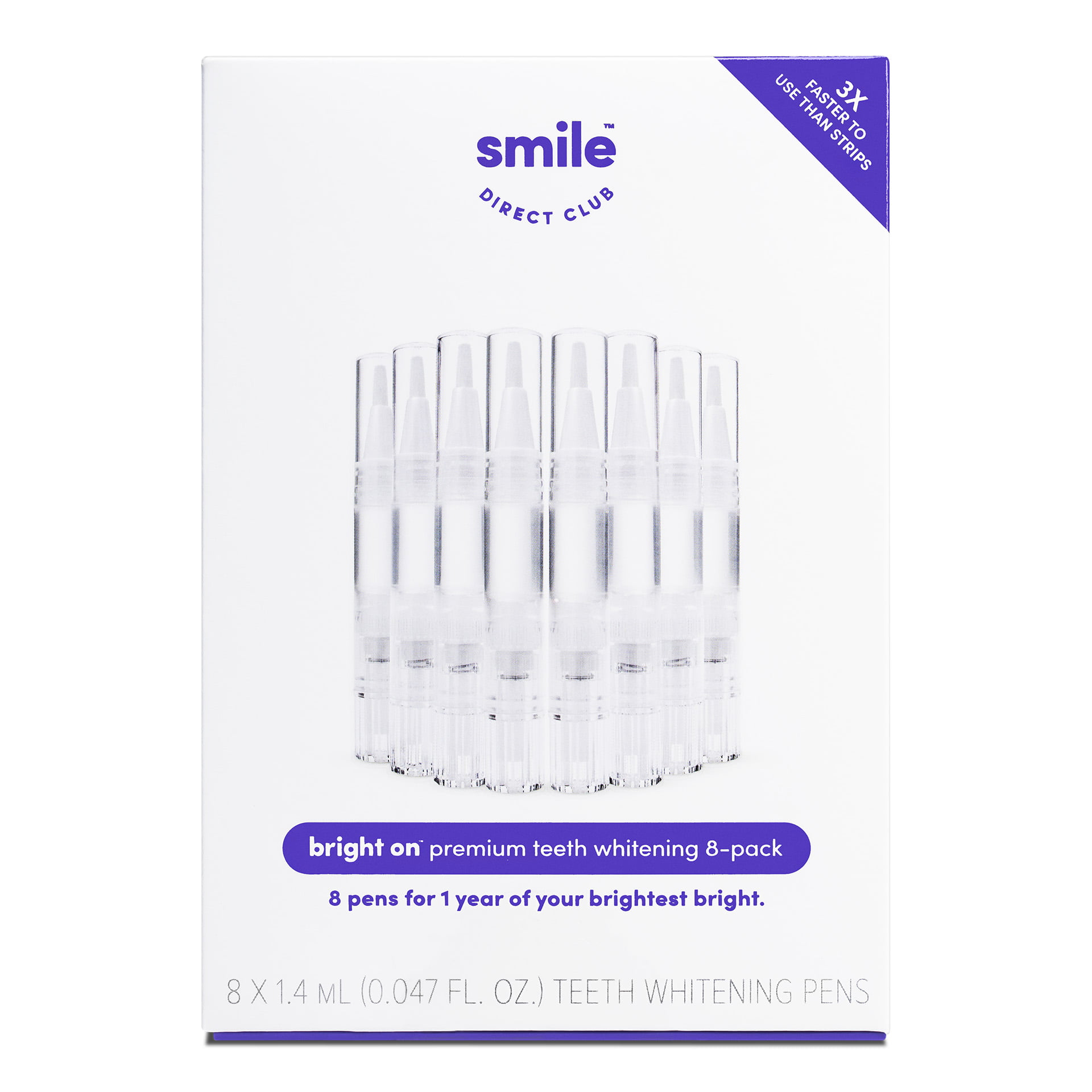 Smile Direct Club Bright On Premium Teeth Whitening Pens 8