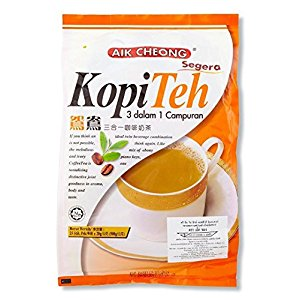 One Free NineChef Spoon + Aik Cheong Instant 3 in 1 Coffee and Tea Mix 500g. (20g.x25 Sachets) (24 Bag)