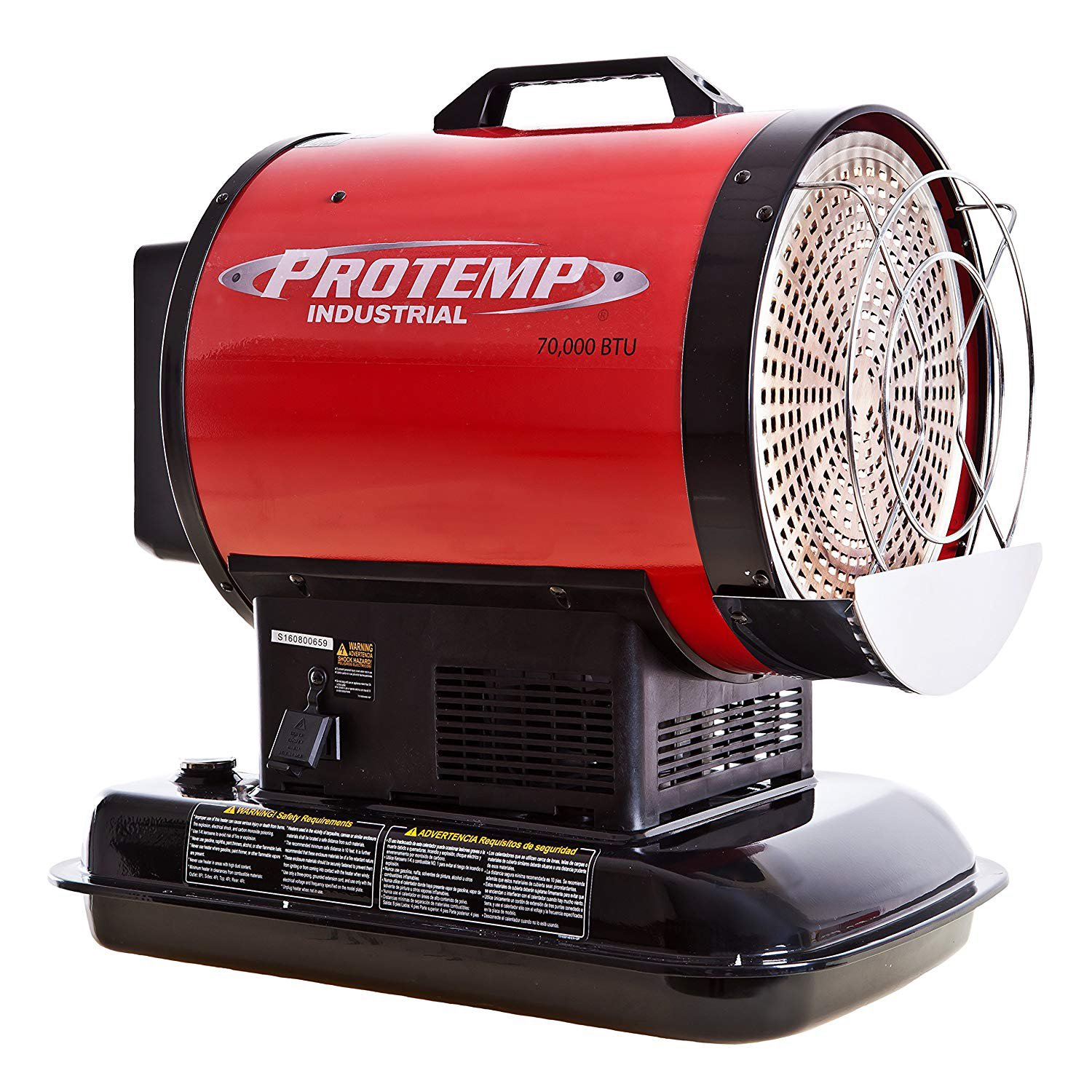 PINNACLE CLIMATE TECHNOLOGIES PT-70-SS-A 70K BTU Radiant Heater