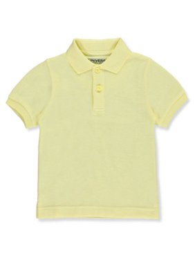 Unisex Boys Girls Short Sleeve Pique Polo Shirt w/Stain Release (2T-20)