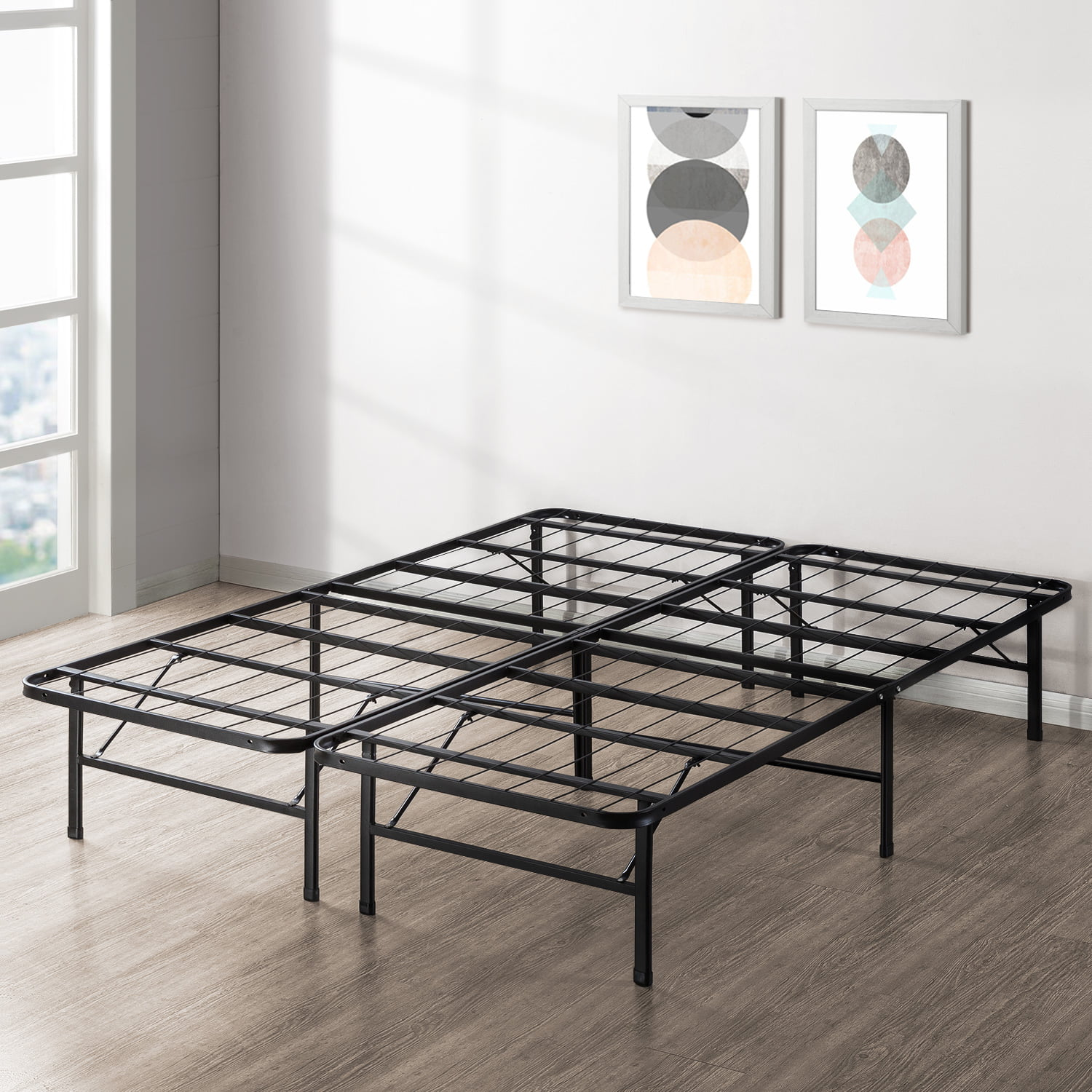Best Price Mattress Innovative Steel Platform Bed Frame Multiple Sizes Walmart Com Walmart Com