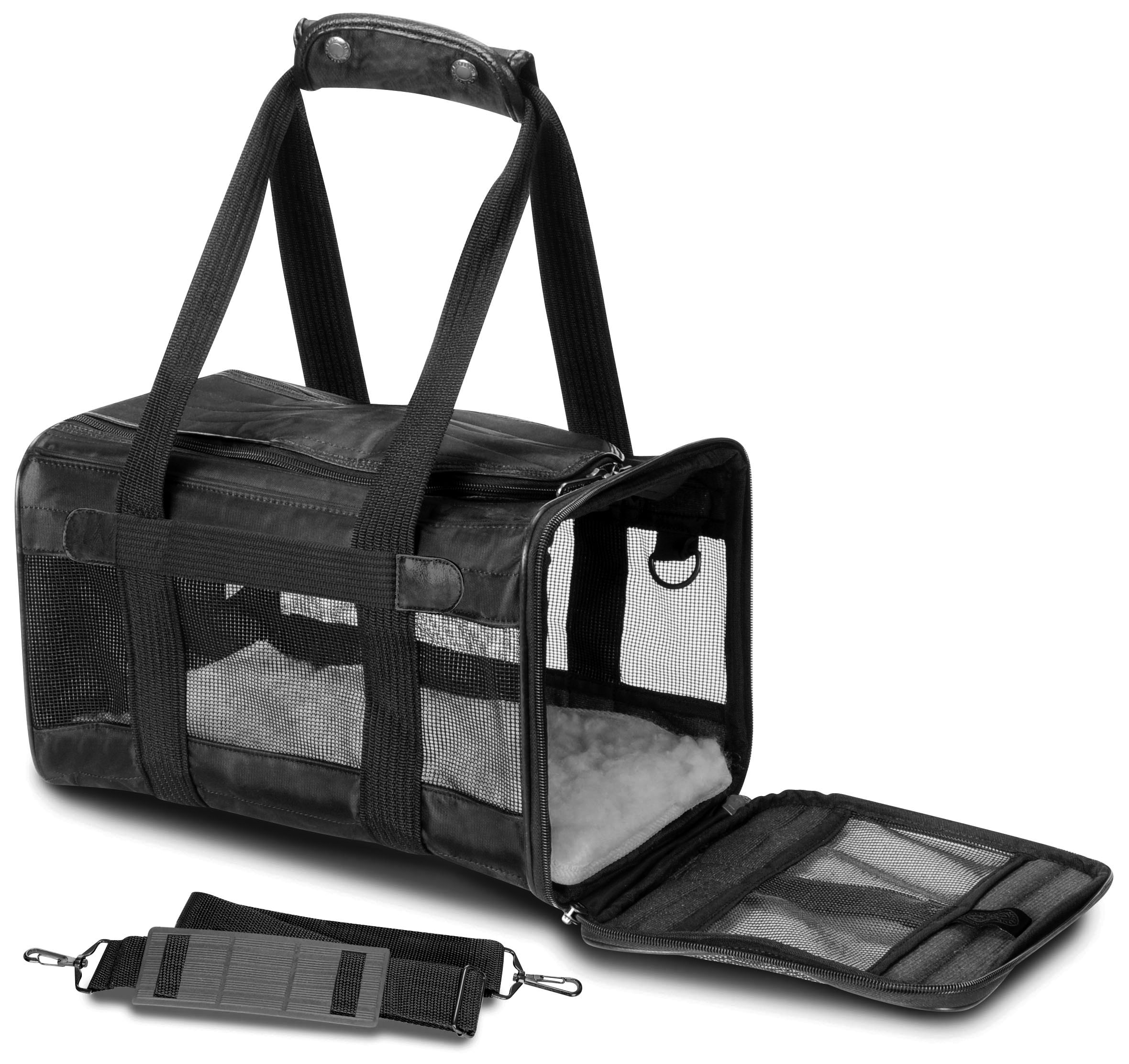 Sherpa® Original Deluxe™ Pet Carrier, Medium, Black