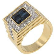 Icon Bijoux R06052T-C30-10 Strong Sea Cz Ring (Size: 10)