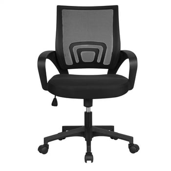 Smilemart Mid Back Adjustable Rolling Desk Chair