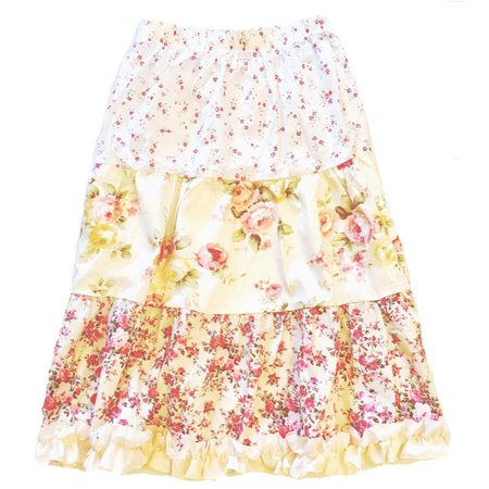 Up School Girl Skirts (Girls' Floral Peasant Skirt)