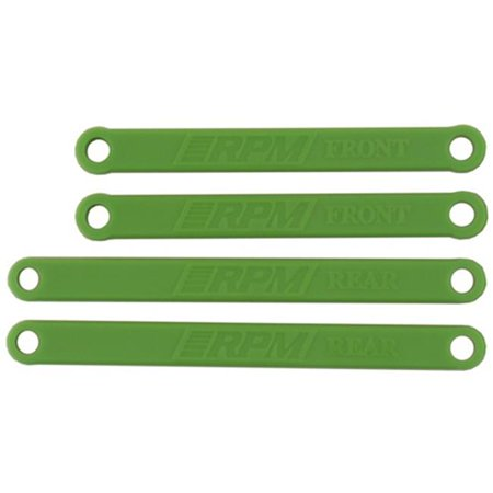 Heavy-Duty Camber Links for Traxxas Electric Rustler and Stampede - Green (Traxxas Parts Green)