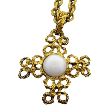 CHANEL Gold 93A CC Baroque 216452