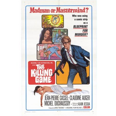 Posterazzi MOVEH3275 The Killing Game Movie Poster - 27 x 40 in. - image 1 of 1