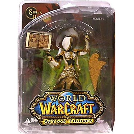 World of Warcraft Series 3 Sister Benedron Action Figure [Human Priestess] ()