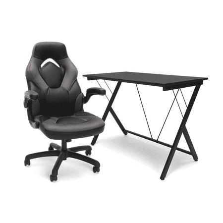 OFM Essentials eSports BattleStation: Racing Gaming Chair, Gaming Desk (Best Gaming Chair Under 150)