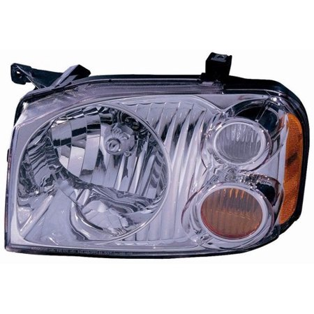 Go-Parts » 2001 - 2004 Nissan Frontier Front Headlight Headlamp Assembly Front Housing / Lens / Cover - Left (Driver) Side - (XE) 26060-8Z325 NI2502130 Replacement For Nissan Frontier 2001 Drivers Side Headlamp