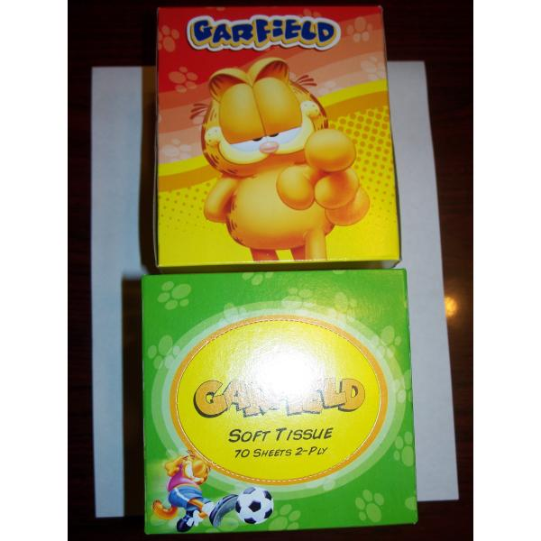 Garfield Facial Tissue - Kids (pack Of 80)