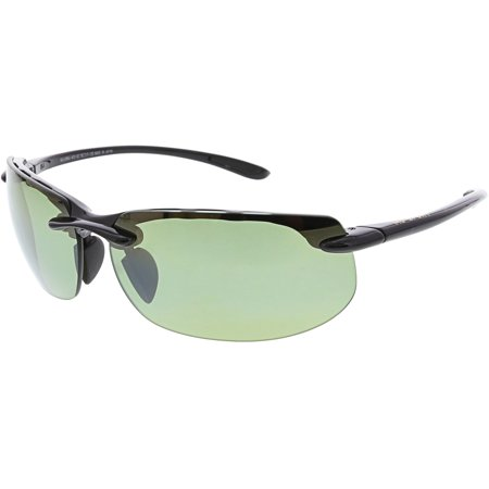 Maui Jim Men's Banyans HT412-02 Black Semi-Rimless (Maui Jim Styles)