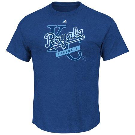 Equal Tee - Kansas City Royals Majestic First Among Equals T-Shirt - Royal