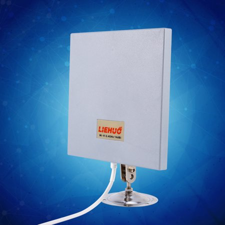Anauto 14dbi 2.4Ghz Long Range Wireless Antenna Panel WiFi Wlan Extender Directional, Antenna