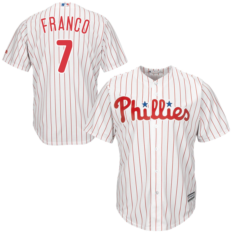 Maikel Franco Philadelphia Phillies Majestic Cool Base Player Jersey - White