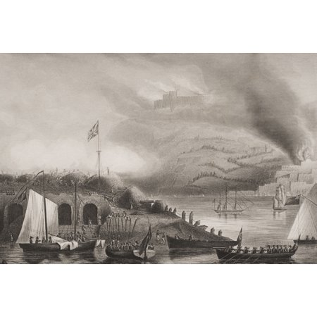 The Storming Of San Sebastian 31St August 1813 Engraved By DJPound After GWTerryFrom Englands Battles By Sea And Land By Lieut Col Williams The London Printing And Publishing Company Circa 1890S Rolle
