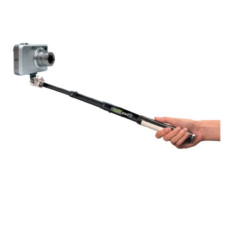 selfie stick extendable handheld pole arm quickpod explorer telescopic shutter. Black Bedroom Furniture Sets. Home Design Ideas