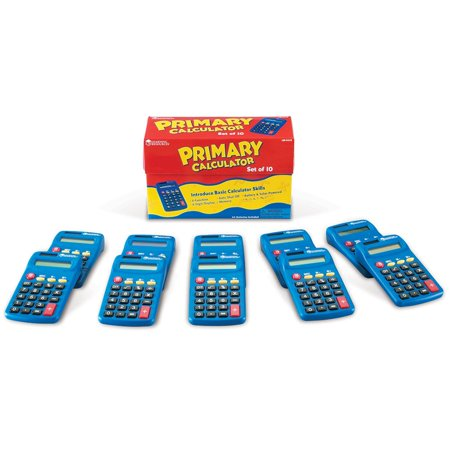 Learning Resources L.R. Primary Calculator (Set/10)